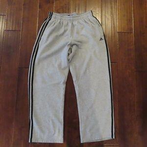 Grey Adidas Traditional Sweatpants